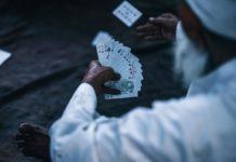 Kartenspiele auf Reisen