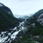 Buarbreen-Gletscher in Fjordnorwegen bei Odda