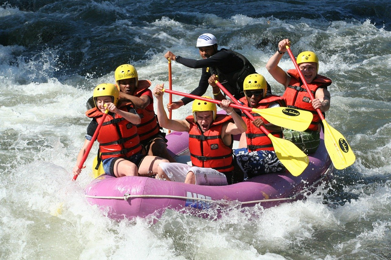 Rafting: Action für Outdoor Hungrige