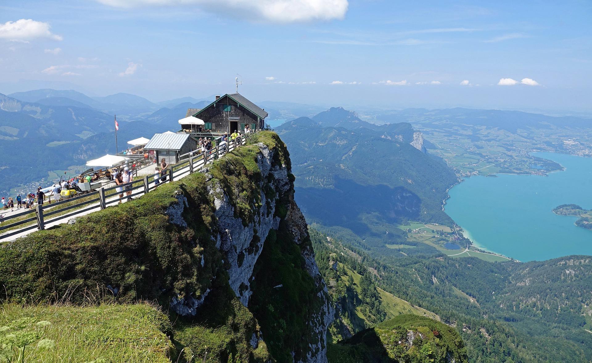 Der Schafberg in Österreich